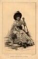 Sarah Bernhardt, by Frédéric Florian, or by  Ernest Florian, after  Jan Marie Constantin van Beers - NPG D1062