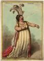 Elizabeth Billington (née Weichsel) ('A bravura air mandane'), by James Gillray, published by  Hannah Humphrey - NPG D1066