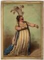Elizabeth Billington (née Weichsel) ('A bravura air mandane'), by James Gillray, published by  Hannah Humphrey - NPG D1067