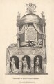 Alice Spencer, Countess of Derby on tomb sculpture, by William Pengree Sherlock, published by  T. Cadell & W. Davies - NPG D108