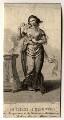 Elizabeth Chudleigh, Countess of Bristol, by Francis Chesham, after  Thomas Gainsborough - NPG D1105