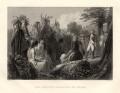 John Burgoyne, by James Charles Armytage, after  Henry Warren - NPG D1145