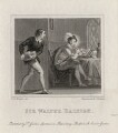 Sir Walter Ralegh (Raleigh), by Henry Chawnes Shenton, published by  T. Gosden, after  John Massey Wright - NPG D1209