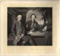 Frederick Howard, 5th Earl of Carlisle; George Augustus Selwyn, by Robert Bowyer Parkes, after  Sir Joshua Reynolds - NPG D1229