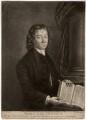 John Cennick, by Philip Dawe, after  A.L. Brandt - NPG D1261
