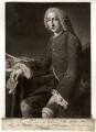 William Pitt, 1st Earl of Chatham, by Richard Houston, after  William Hoare - NPG D1279