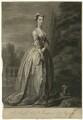 Frances Byron (née Berkeley), Lady Byron, by John Faber Jr, after  William Hogarth - NPG D1293