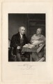 The Revd. W. Carey, D.D. and his Brahmin Pundit (William Carey; Mritunjaya), by Joseph John Jenkins, published by  Fisher Son & Co, after  Robert Home - NPG D1327