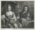 Grinling Gibbons; Elizabeth Gibbons, by John Smith, after  John Closterman - NPG D1335