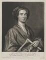 John Smith holding print by John Smith of Sir Godfrey Kneller, Bt, by John Smith, after  Sir Godfrey Kneller, Bt - NPG D1340