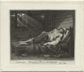'The Death of Chatterton' (Thomas Chatterton), by Francesco Bartolozzi, after  Raphael Lamar West - NPG D1372