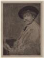 James Abbott McNeill Whistler, after William Brassey Hole, after  James Abbott McNeill Whistler - NPG D1400