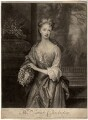 Sarah Plowden (née Chicheley), by and published by John Smith, after  Sir Godfrey Kneller, Bt - NPG D1408