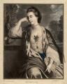 Henrietta Catherine Cholmley (née Croft), by James Watson, after  Sir Joshua Reynolds - NPG D1412