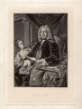 Colley Cibber, after Jean Baptiste van Loo - NPG D1448