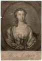 Susannah Maria Cibber (née Arne), by John Faber Jr, after  Thomas Hudson - NPG D1449