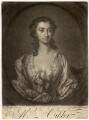 Susannah Maria Cibber (née Arne), by John Faber Jr, after  Thomas Hudson - NPG D1450