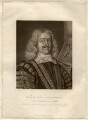 Edward Hyde, 1st Earl of Clarendon, by Robert Dunkarton, published by  William Richardson, after  David Loggan - NPG D1454