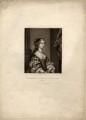 Barbara Palmer (née Villiers), Duchess of Cleveland, by Robert Dunkarton, after  Sir Peter Lely - NPG D1475