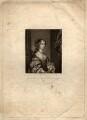 Barbara Palmer (née Villiers), Duchess of Cleveland, by Robert Dunkarton, after  Sir Peter Lely - NPG D1476