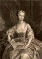 Catherine ('Kitty') Clive (née Raftor), by Alexander van Aken, after  Jeremiah Davison - NPG D1479