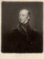 Sir Edward Codrington, by Charles Turner, after  Sir Thomas Lawrence - NPG D1487