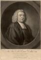 Emanuel Collins, by James Macardell, after  Nathaniel Hone - NPG D1496