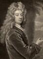 William Congreve, by John Smith, after  Sir Godfrey Kneller, Bt - NPG D1515