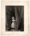'Little Roxalana' (Maria Louise ('Minna') Constable), by David Lucas, after  John Constable - NPG D1519