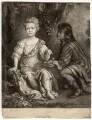Elizabeth Cooper, by William Faithorne Jr, published by  Edward Cooper, after  Sir Peter Lely - NPG D1522