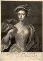 Priscilla Cooper, by Peter Pelham, after  Michael Dahl - NPG D1549