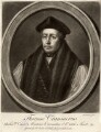 Thomas Cranmer, by Richard Houston, after  Gerlach Flicke - NPG D1569