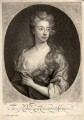 Elizabeth Southwell (née Cromwell), Lady Cromwell, by and published by John Smith, after  Sir Godfrey Kneller, Bt - NPG D1582