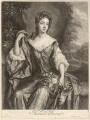Madam D'Avenant, by John Smith, after  Sir Godfrey Kneller, Bt - NPG D1621