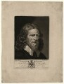 Abraham van der Doort (inscribed 'Dobson's Father'), by Valentine Green, possibly after  William Dobson - NPG D1644