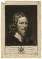 Abraham van der Doort (inscribed 'Dobson's Father'), by Valentine Green, possibly after  William Dobson - NPG D1646