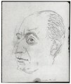 Sir Landon Ronald, by Powys Evans - NPG D1679