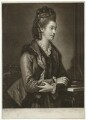 Elizabeth Catherine ('Kitty') Clarke (née Hunter), by Valentine Green, after  Edward Francis Cunningham (Calze) - NPG D1710