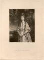 Anne Seymour Damer (née Conway), by Samuel William Reynolds, after  Sir Joshua Reynolds - NPG D1716