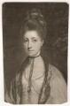 Anne Seymour Damer (née Conway), by John Raphael Smith, after  Sir Joshua Reynolds - NPG D1718