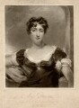 Maria Rebecca Davison (née Duncan), by Charles Turner, published by  John Peter Thompson, after  George Henry Harlow - NPG D1728