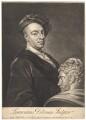 Laurent Delvaux, by Alexander van Aken, after  Isaac Whood - NPG D1736