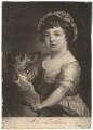 Frances Douglas (née Lascelles), by James Watson, after  Francis Cotes - NPG D1779