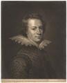 William Drummond of Hawthornden, by John Finlayson, after  Abraham van Blyenberch - NPG D1798