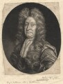 John Dryden, by William Faithorne Jr, after  John Closterman - NPG D1799