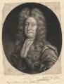 John Dryden, by William Faithorne Jr, after  John Closterman - NPG D1799