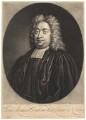 Jean Armand Dubourdieu, by Peter Pelham, after  D. Fermin - NPG D1802