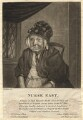 Elizabeth East, by William Florio, after  John Arthur Cahusac - NPG D1823