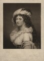 Sarah Capell-Coningsby (née Bazett), Countess of Essex, by and published by Charles Turner, after  Robert Fagan - NPG D1839