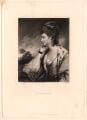 Catherine Eckersall (née Wathen), by Samuel William Reynolds, after  Sir Joshua Reynolds - NPG D1843